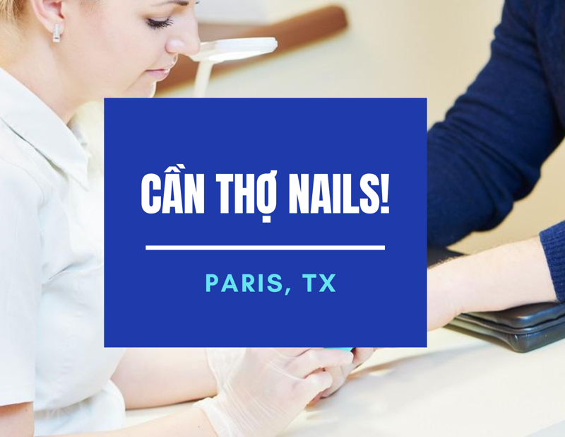 Picture of Cần thợ nails tại VIP NAIL & SPA in Paris, TX. Income/tháng: $1,200-$1,800
