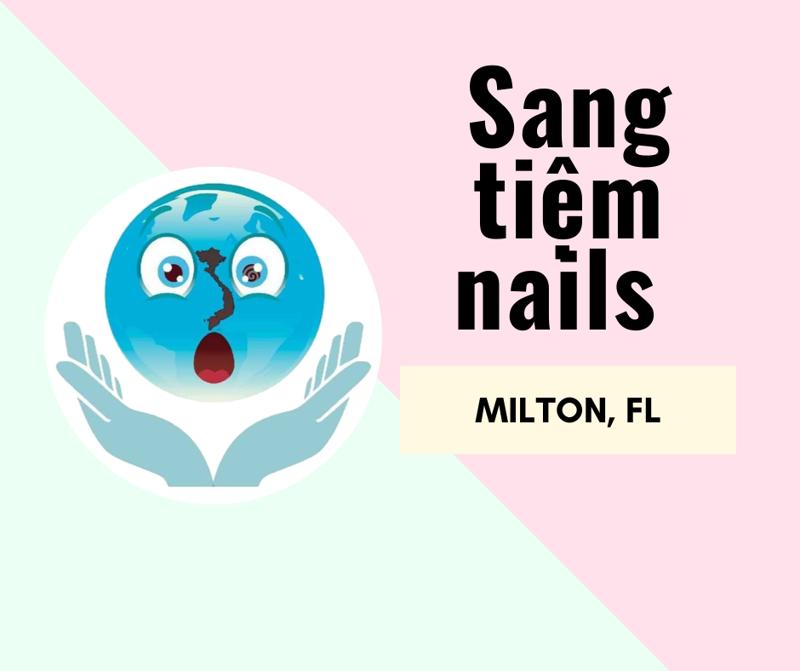 Ảnh của SANG TIỆM NAILS  in MILTON, FL . INCOME $80,000/THÁNG