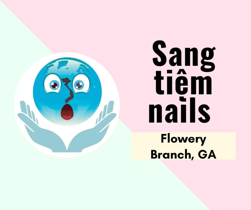 Ảnh của SANG TIỆM NAILS in Flowery Branch, GA. Rộng 1,700 sqft