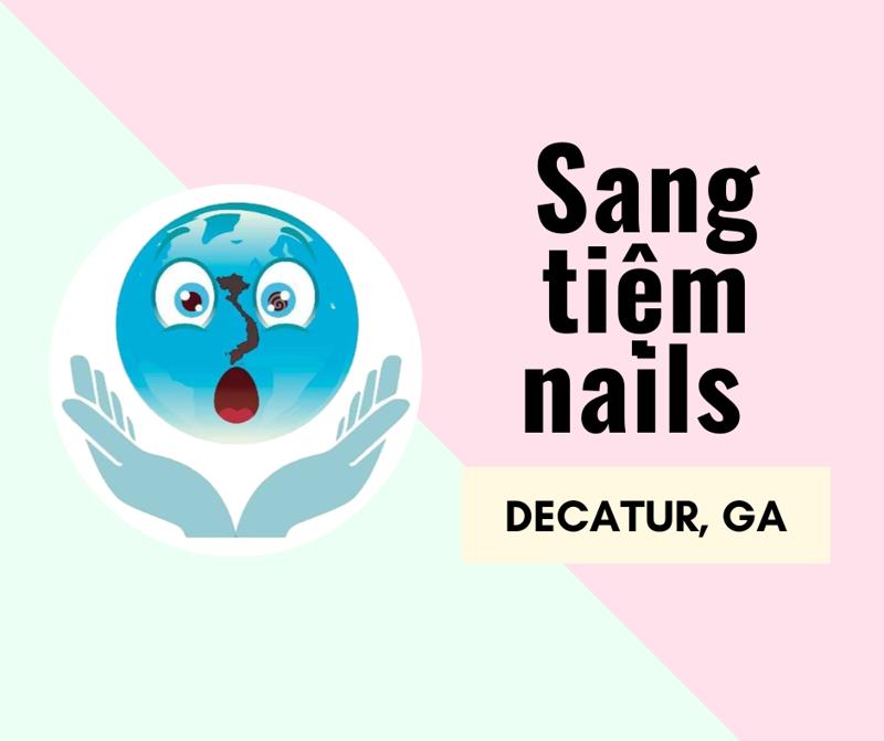 Ảnh của SANG TIỆM NAILS tại ALLURE NAIL BAR CLAIRMONT in DECATUR, GA (income cao)