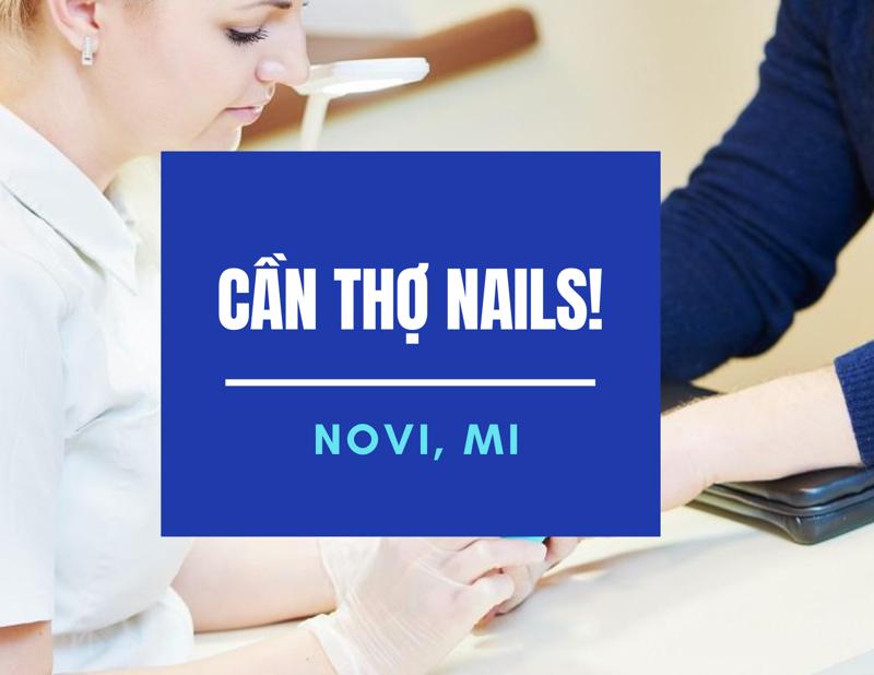 Ảnh của Cần Thợ Nails in Novi, MI.