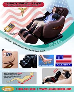 Ảnh của LURACO LEGEND L-TRACK-Ghế Massage Vật Lý Liệu Số 1 Thế Giới