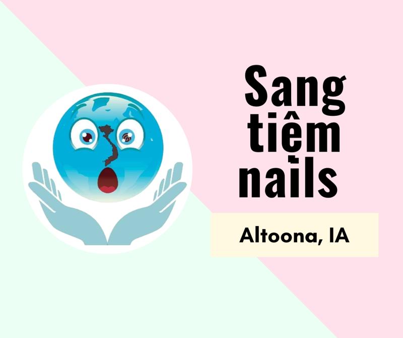 Ảnh của SANG TIỆM NAILS  in Altoona, IA. Income/tháng:$17,000