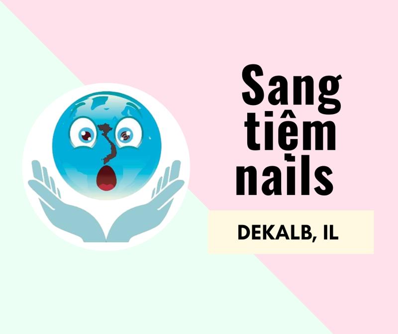 Ảnh của SANG TIỆM NAILS DEKALB NAIL SPA  in DEKALB, IL (Rent $2,500/Tháng)