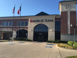 Picture of Bank of Texas in Dallas, TX 75225