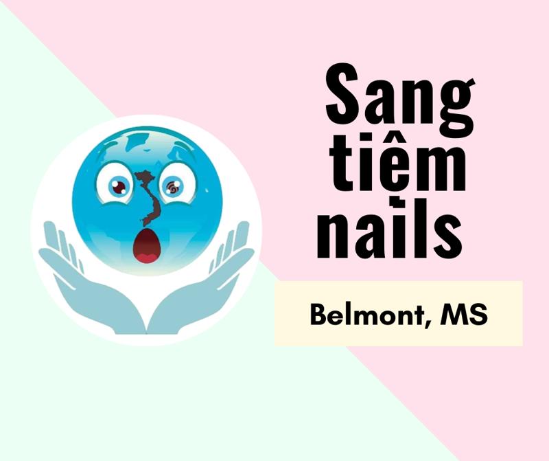 Ảnh của SANG TIỆM NAILS  in Belmont, MS (Rent/tháng:$700)