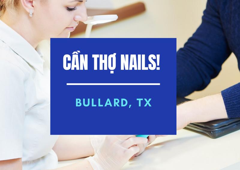 Ảnh của Cần Thợ Nails tại luxury nail and spa in Bullard, TX (Bao lương)