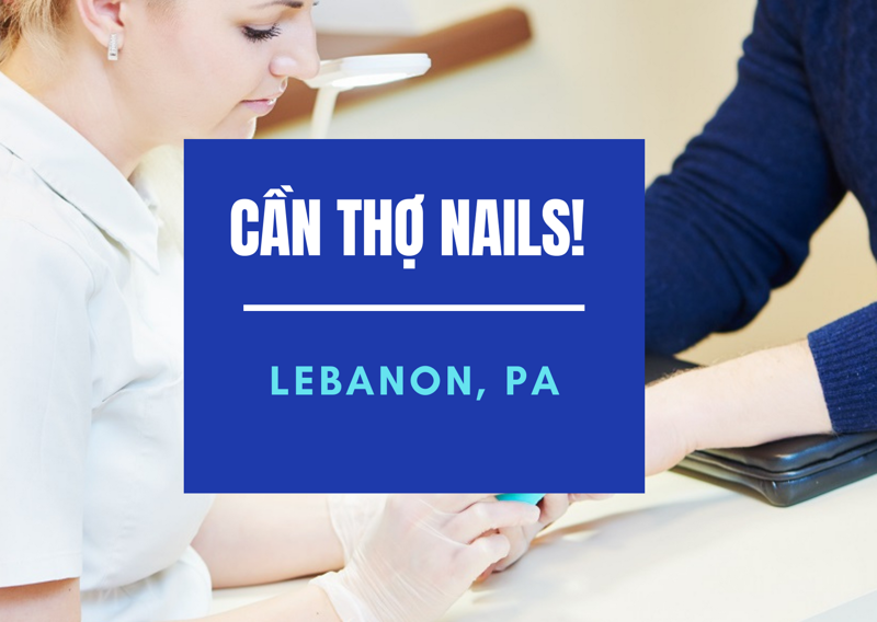 Ảnh của Cần Thợ Nails tại TOP NAILS in LEBANON, PA  (Bao lương/ ăn chia)