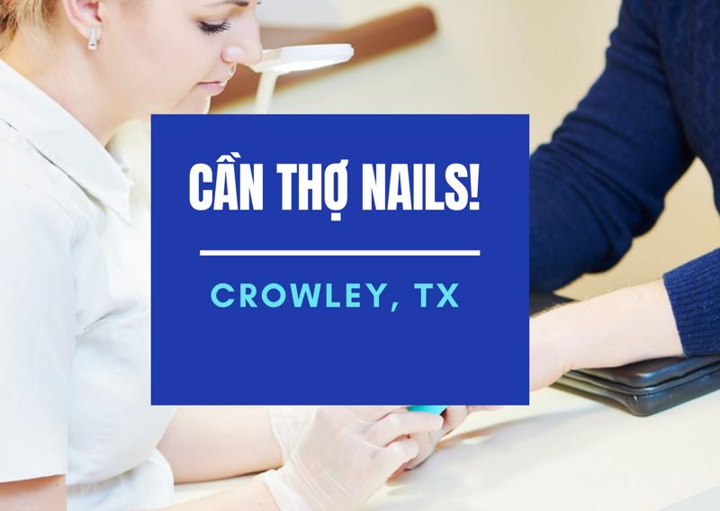 Ảnh của Cần Thợ Nails in Crowley, TX(Bao lương)