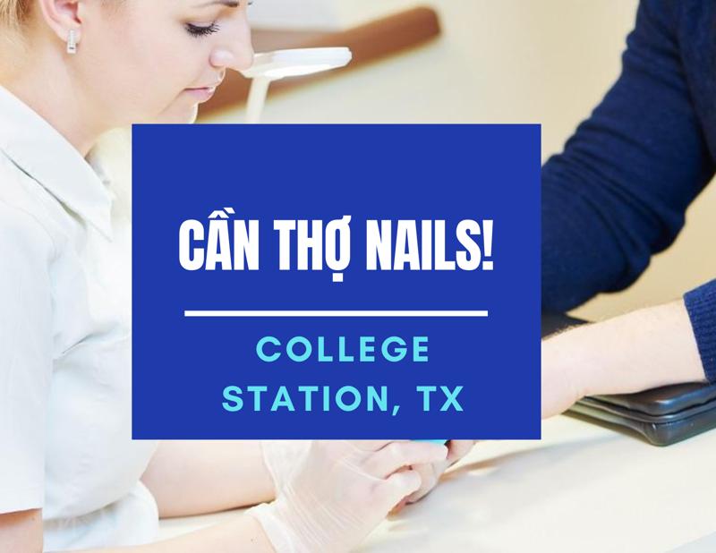 Ảnh của Cần Thợ Nails in College Station, TX (Bao lương. ăn chia)