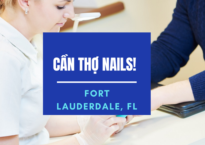 Picture of Cần Thợ Nails tại DANIA NAILS SPA in FORT LAUDERDALE, FL   (Bao lương)
