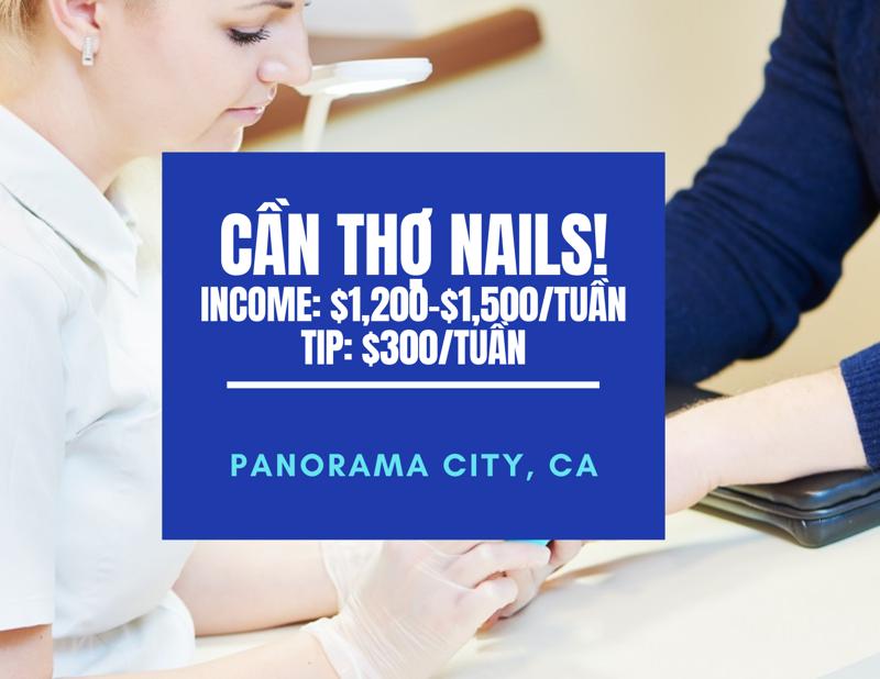 Ảnh của Cần thợ nails ở Panorama City, CA . Income/month: $5,000