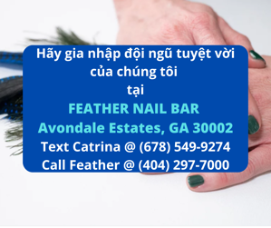 Picture of CẦN THỢ NAILS TẠI FEATHER NAIL BAR IN AVONDALE ESTATES, GA 30002