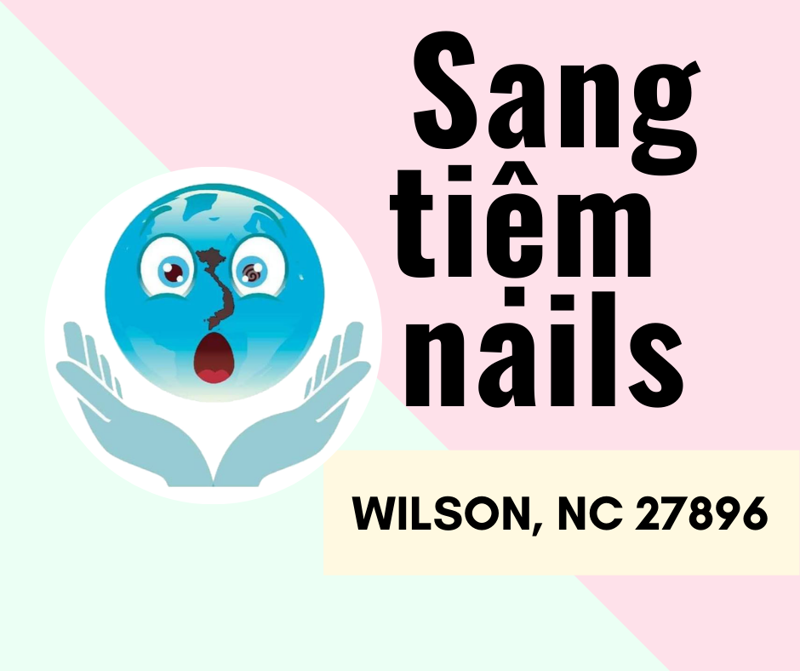 Picture of SANG TIỆM NAILS Ở WILSON, NC 27896 - SANG TIEM NAIL IN WILSON, NC 27896 - SELLING NAIL SALON IN WILSON, NC 27896