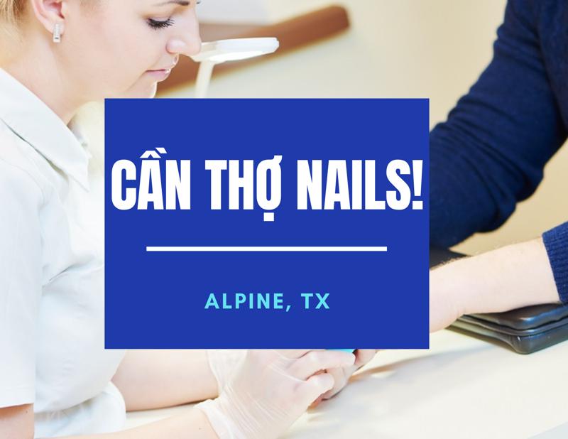 Ảnh của CẦN THỢ NAILS IN ALPINE, TX 79832