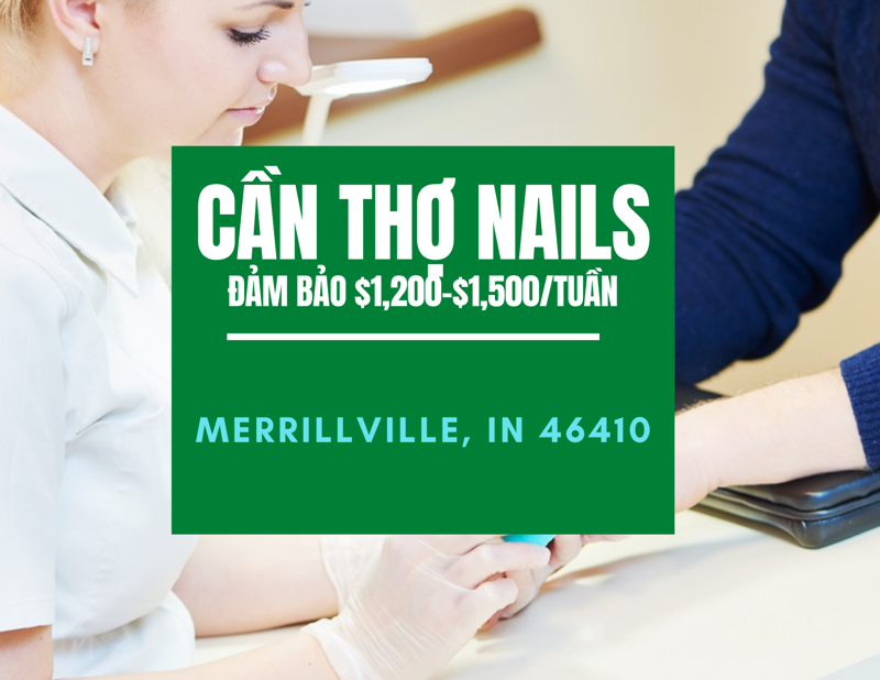 Picture of CẦN THỢ NAILS - VIỆC LÀM NAILS IN MERRILLVILLE, IN 46410